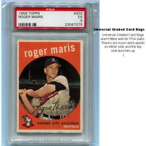 Universal Graded Card Bags