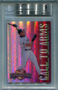 Frank Thomas 1998 Donruss Crusade CTA #14 Red /25
