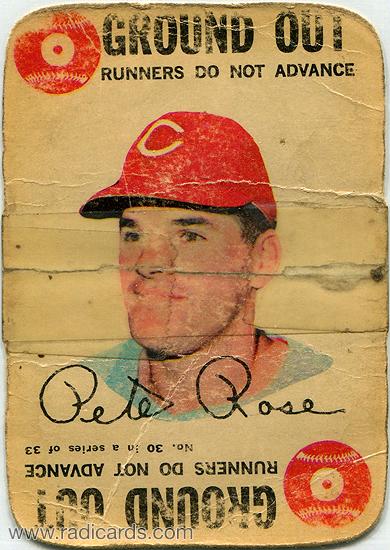 Pete Rose 1968 Topps Game #30