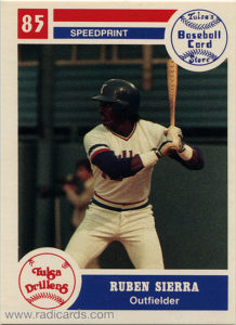 1985 Tulsa Drillers Team Issue