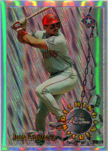 1996 Topps Chrome Wrecking Crew Refractor Baseball