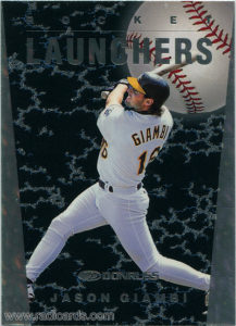 1997 Donruss Rocket Launchers Baseball