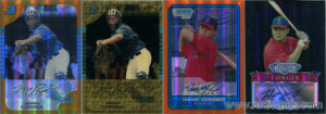 Hank Conger Prospect Cards from 2005 & 2006
