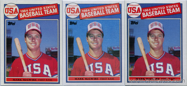 How To Spot Fake 1985 Topps Mark Mcgwire Rookie Cards The