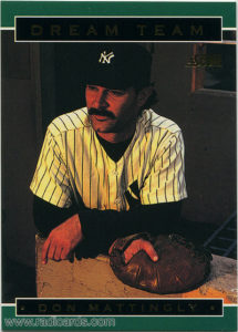 Don Mattingly 1994 Score Dream Team #3