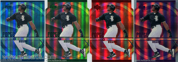 1999 Upper Deck Forte Baseball Cards