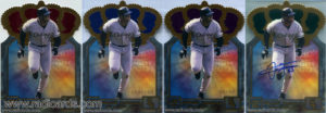 2001 Pacific Gold Crown Die Cuts Baseball Cards