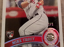Mike Trout 2011 Topps Update Rookie Cards The Radicards Blog