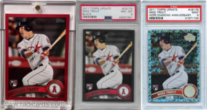 Mike Trout 2011 Topps Update #US175