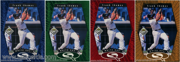 1999 UD Choice StarQuest Baseball Cards