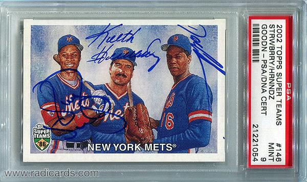 New York Mets 2002 Topps Super Teams #146