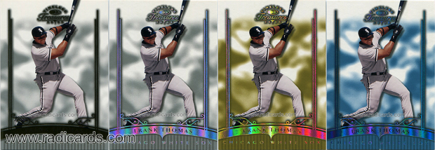 2003 Timeless Treasures Baseball Cards