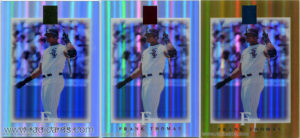 2003 Topps Tribute Contemporary Baseball Cards