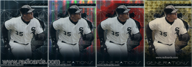 2015 Finest Generations Baseball Cards