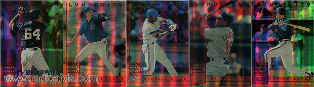 1998 Leaf Rookies and Stars Longevity Holographic
