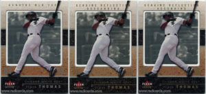 2003 Fleer Genuine Baseball Cards