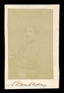 Abner Doubleday Civil War Era Photo Signed | Source: hugginsandscott.com