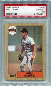 1987 Topps Baseball