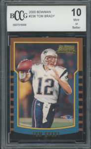 Tom Brady 2000 Bowman #236 | Source: pristineauction.com