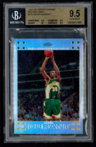Kevin Durant 2007-08 Topps Chrome #131 Refractor | Source: pristineauction.com