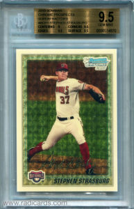 Stephen Strasburg 2010 Bowman Chrome Prospects #BCP1 Superfractor /1