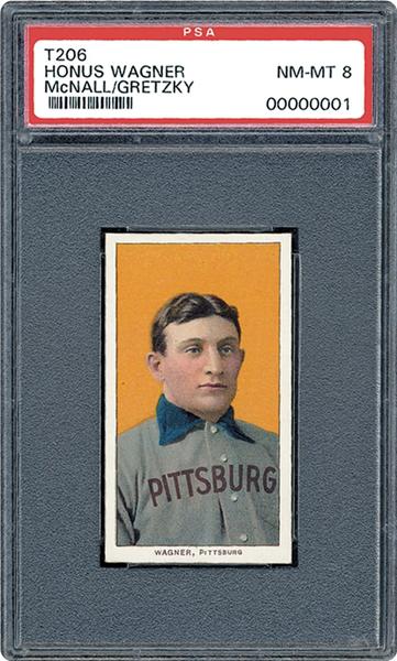 1909-11 T206 Honus Wagner