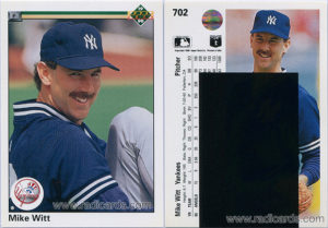 Mike Witt 1990 Upper Deck #702A