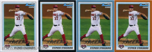 Stephen Strasburg 2010 Bowman Prospects #BP1a