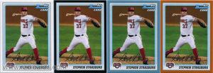 Stephen Strasburg 2010 Bowman Prospects #BP1a