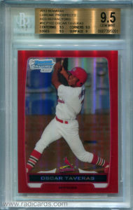 2012 Bowman Chrome Prospects #BCP102 Red Refractor