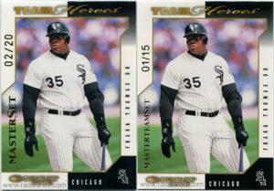 2003 Donruss Team Heroes Master Set and Master Team Set Baseball Cards