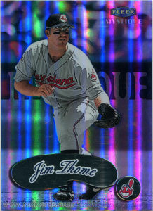 Jim Thome 1999 Fleer Mystique #33