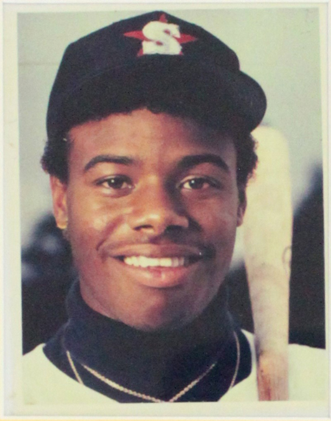 Original Polaroid used on Ken Griffey Jr. 1989 Upper Deck #1