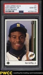 Ken Griffey Jr. 1989 Upper Deck #1