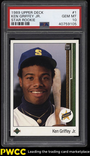 Original Polaroid Used On Iconic 1989 Upper Deck Ken Griffey
