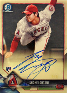 Shohei Ohtani 2018 Bowman Chrome Rookie Autographs #CRASO Superfractor