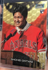 Shohei Ohtani 2018 Stadium Club Chrome #SCC138 Superfractor /1