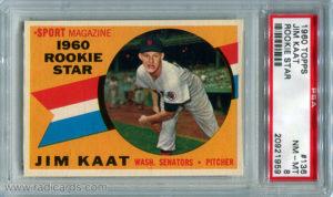 Jim Kaat 1960 Topps #136
