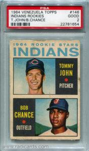 Tommy John 1964 Topps Venezuelan #146