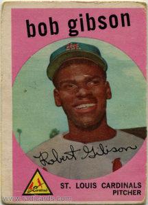 Bob Gibson 1959 Topps #514