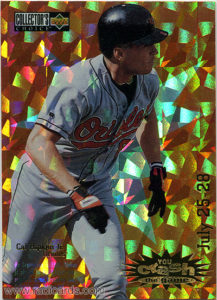 Cal Ripken Jr. 1996 Collector's Choice Crash the Game #CG4B Gold