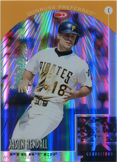 Jason Kendall 1998 Donruss Prized Collections Preferred #654 /55