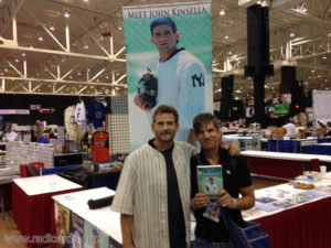 With Dwier Brown who played John Kinsella in the movie Field of Dreams