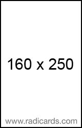 Radicards Ad Spot 160x250