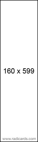Radicards Ad Spot 160x599
