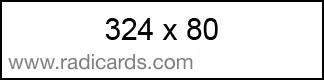 Radicards Ad Spot 324x80