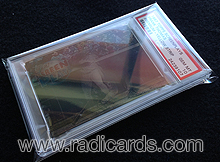 Fitted PSA Graded Card Bags 75pt