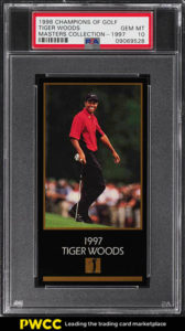 Tiger Woods 1998 Champions of Golf Masters Collection 1997