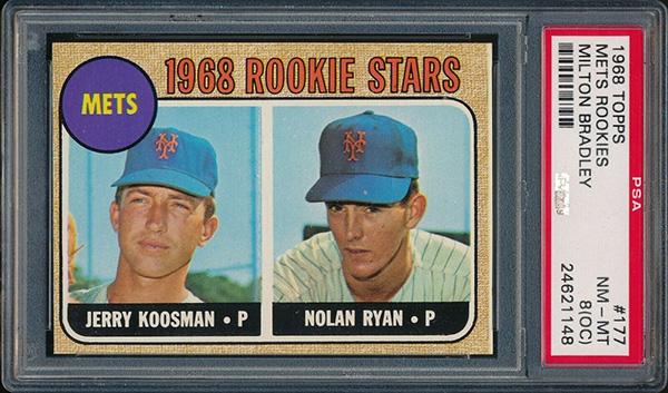 Nolan Ryan 1968 Topps Milton Bradley #177