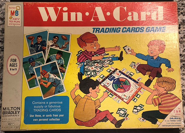 1968 Topps Milton Bradley Win-A-Card Game